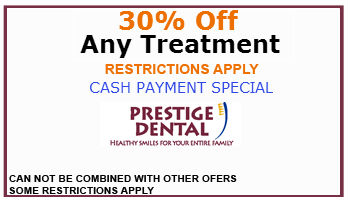 Prestige Dental Coupon Cash Payment 30 Percent Off Any Treatment
