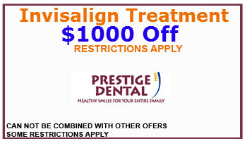 Prestige Dental Elk Grove Coupon Invisalign Treatment