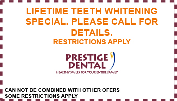 Prestige Dental Coupon Template